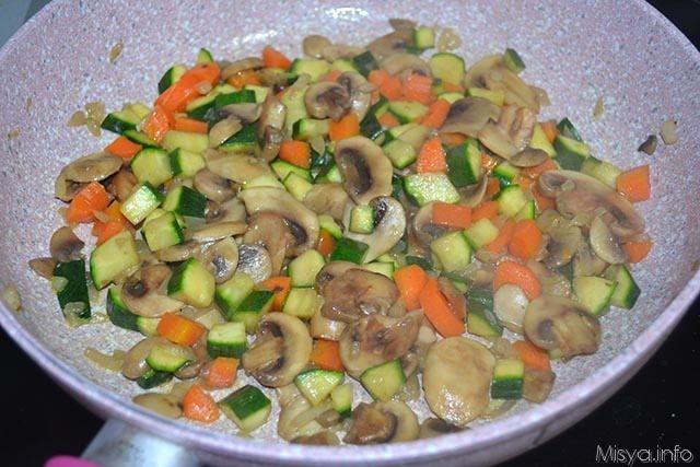 9 cuocere verdure in padella