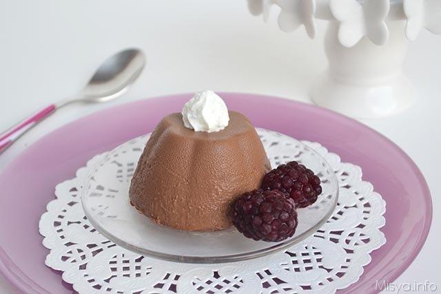 Dolci al cucchiaio ricette Budino al cioccolato