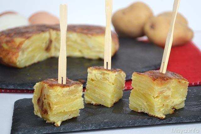 Tortilla di patate ricetta della frittata di patate for Ricette spagnole
