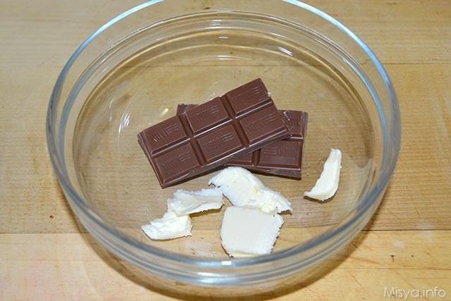 1 burro e cioccolato