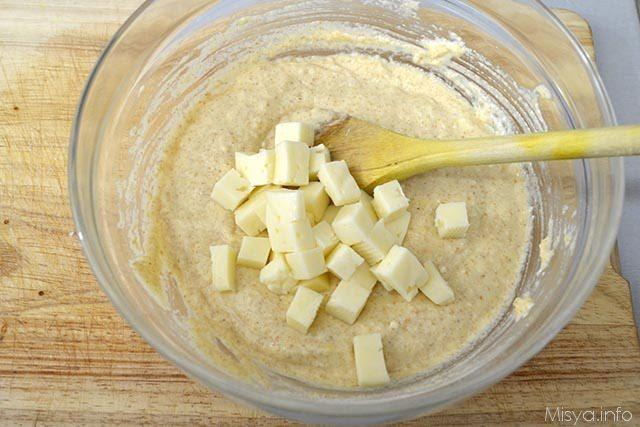 10 aggiungere formaggio