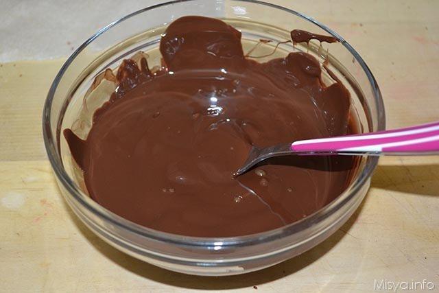 21 cioccolato fondente fuso