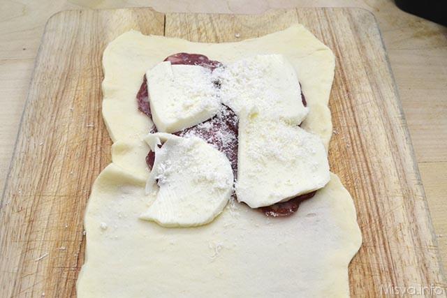 3 aggiungere formaggio