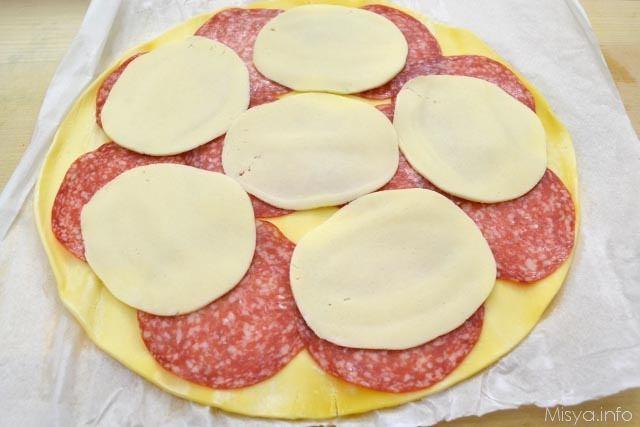 3 fette di formaggio
