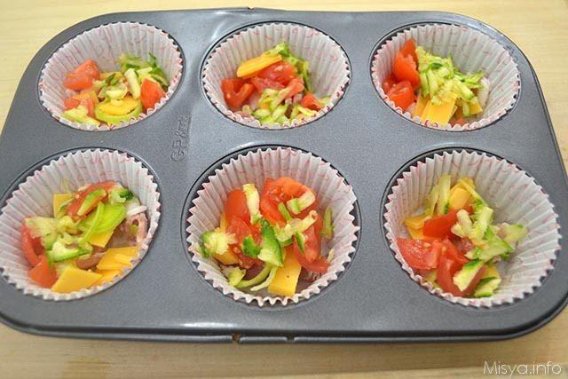 6 aggiungere verdure