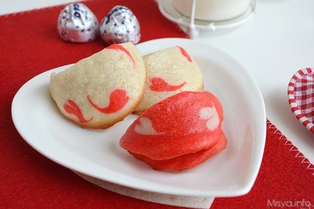 Biscotti della fortuna di San Valentino