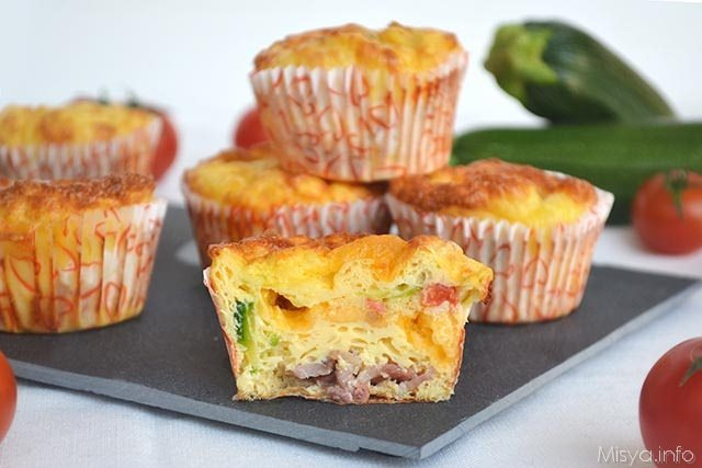 Omelette muffin