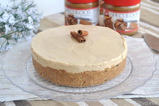 Cheesecake allo speculoos