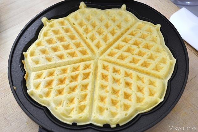 Ricetta Wafer Dolci.Waffle Ricetta Waffle Di Misya