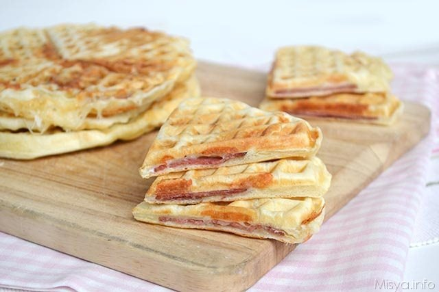 Rustici ricette Pizza waffle