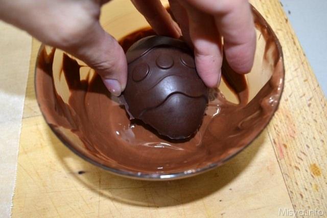 7 cioccolato sui bordi