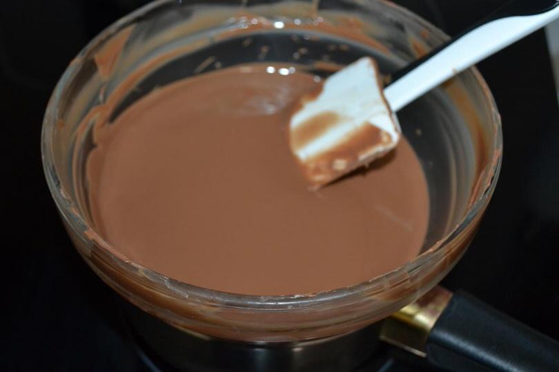 8 riscaldare cioccolato