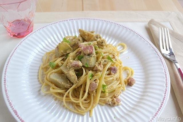Ricette  Carbonara di carciofi
