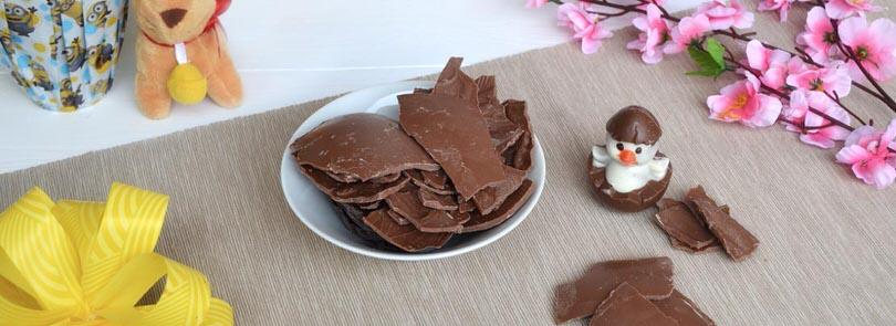 Come riciclare il cioccolato delle uova di Pasqua