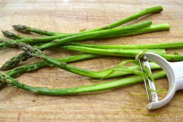 2 pulire asparagi