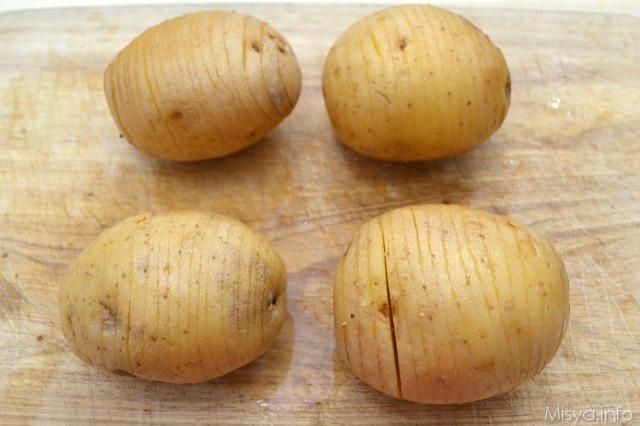 3 fare tagli nelle patate