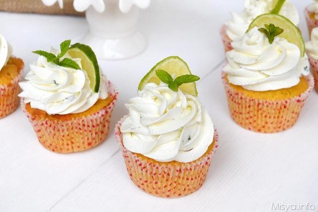 Mojito-cupcake