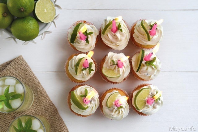 Mojito_cupcakes