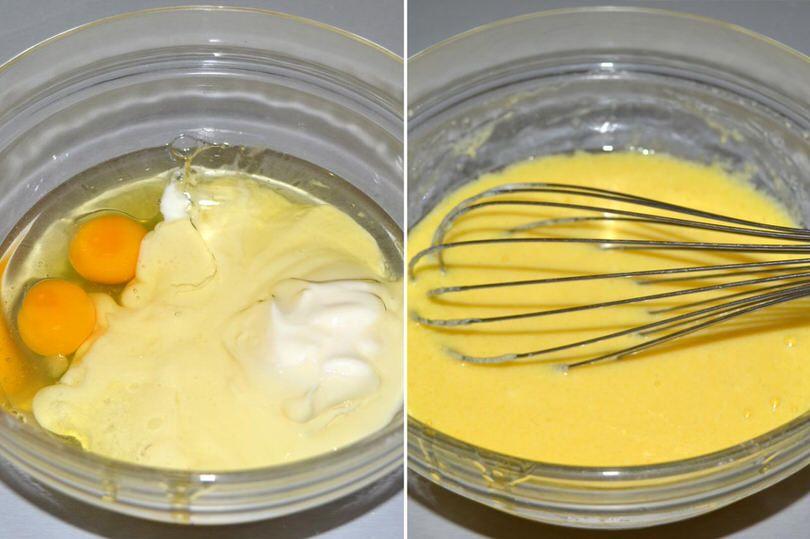 1 uova e yogurt