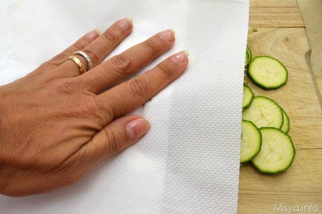 2 asciugare zucchine