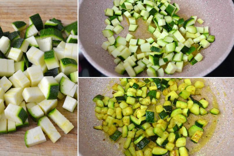 3 cuocere zucchine