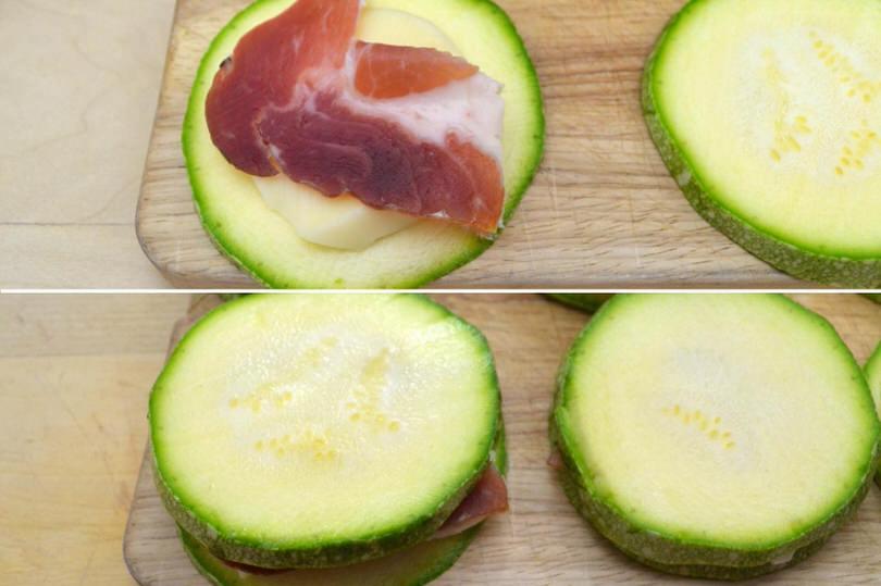 3 farcire zucchine