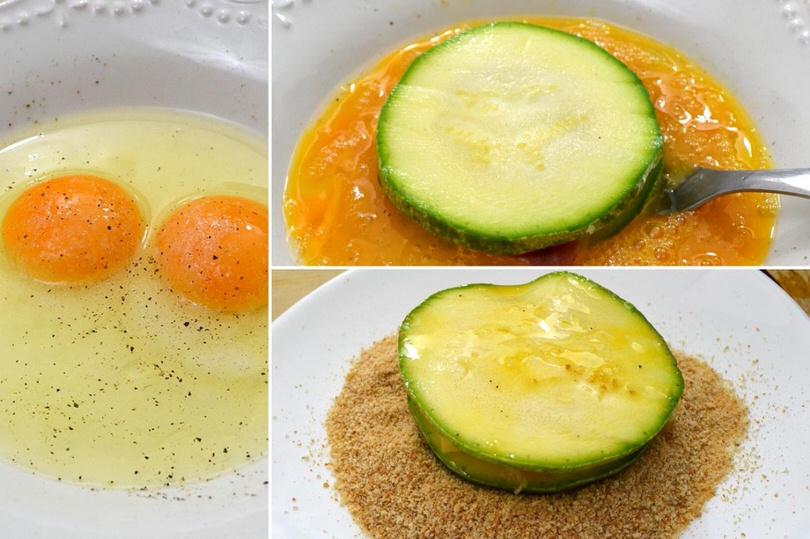 4 passare nell uovo e pangrattato