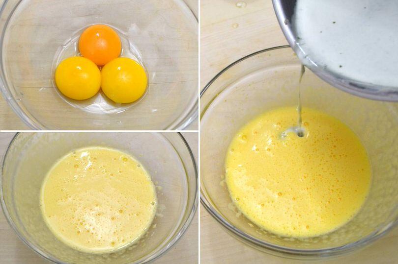 5 aggiungere uova