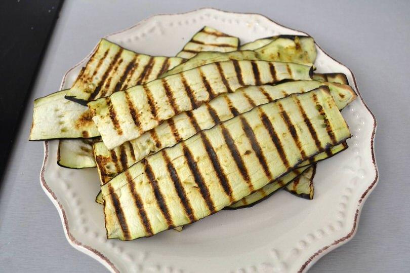 5 melanzane grigliate