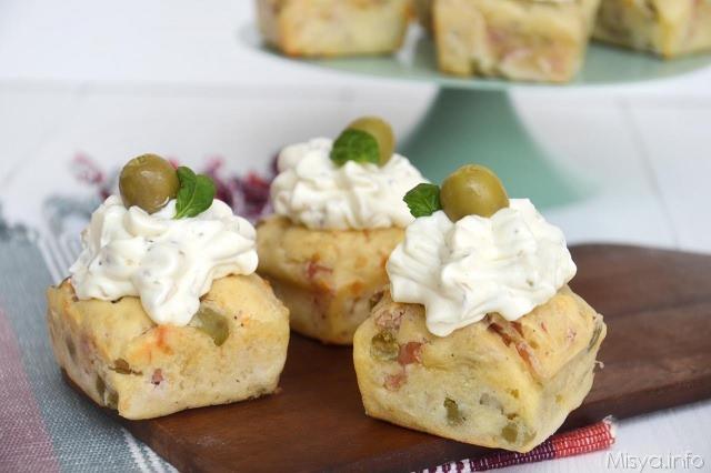 Ricette Rustici Cupcake salati
