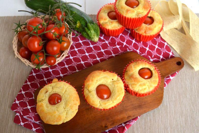 Muffin con pomodorino