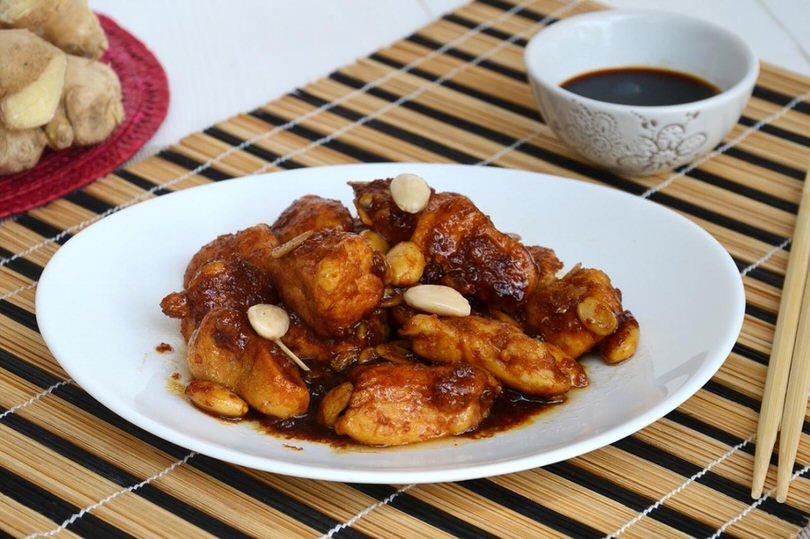 Pollo alle mandorle bimby