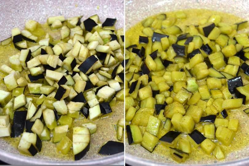 1 melanzane in padella