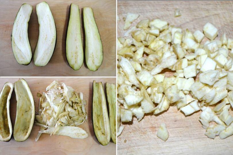 1 svuotare melanzane