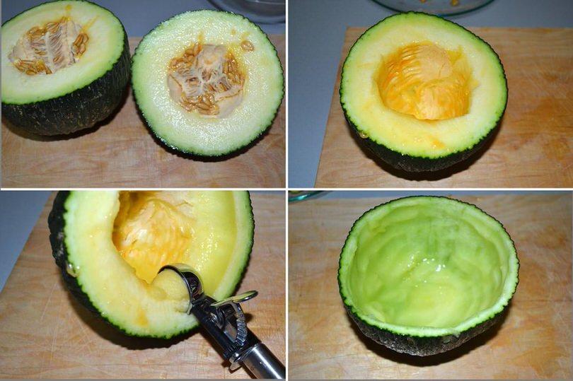 1 svuotare melone