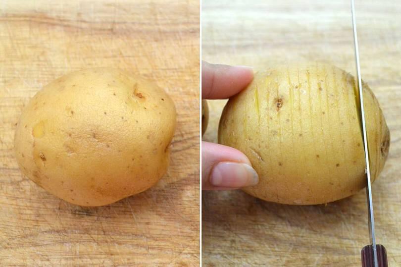 1 tagliare patate