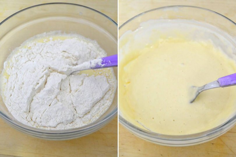 2 aggiungere farina