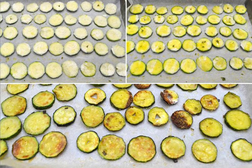 4 teglia con zucchine