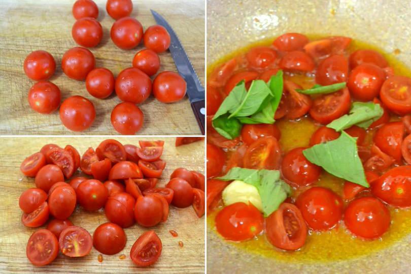 cuocere pomodorini
