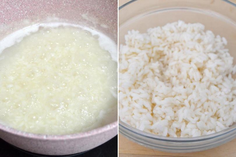 cuocere riso