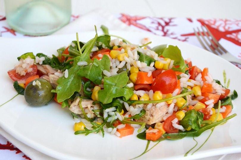 Insalata di riso ricetta insalata di riso di misya for Ricette insalate
