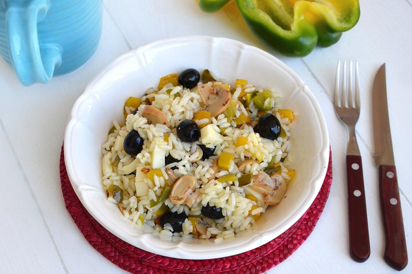 Insalata di riso vegetariana ricetta insalata di riso for Ricette di riso