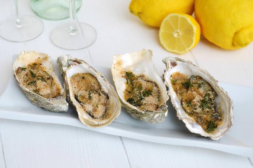Ricette Antipasti di pesce Ostriche gratinate
