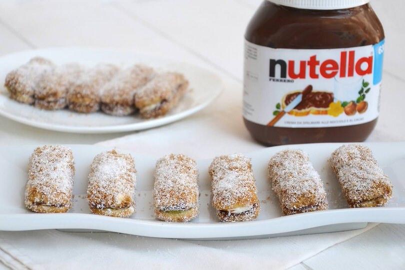 Pavesini Cocco E Nutella Ricetta Pavesini Cocco E Nutella Di Misya