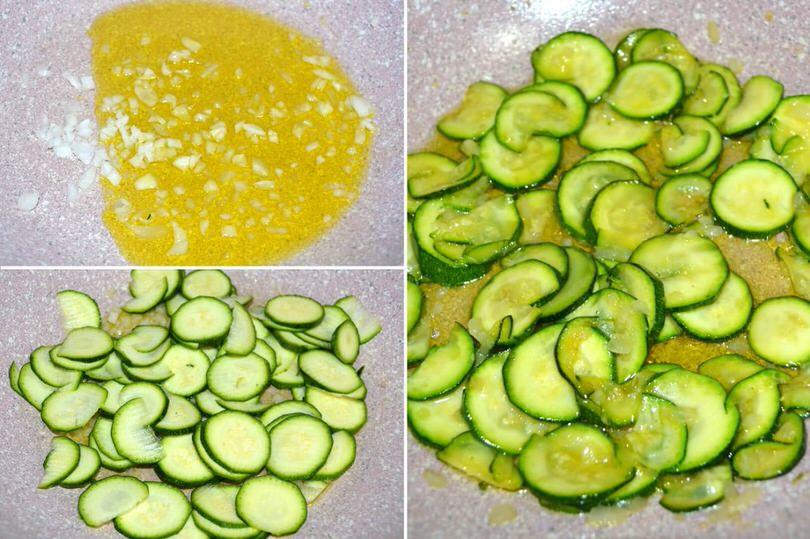 soffriggere zucchine