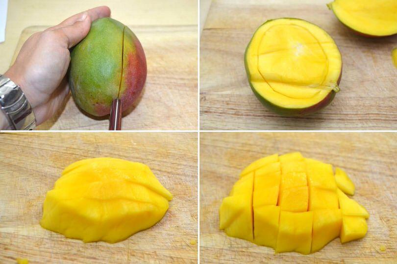 tagliare il mango