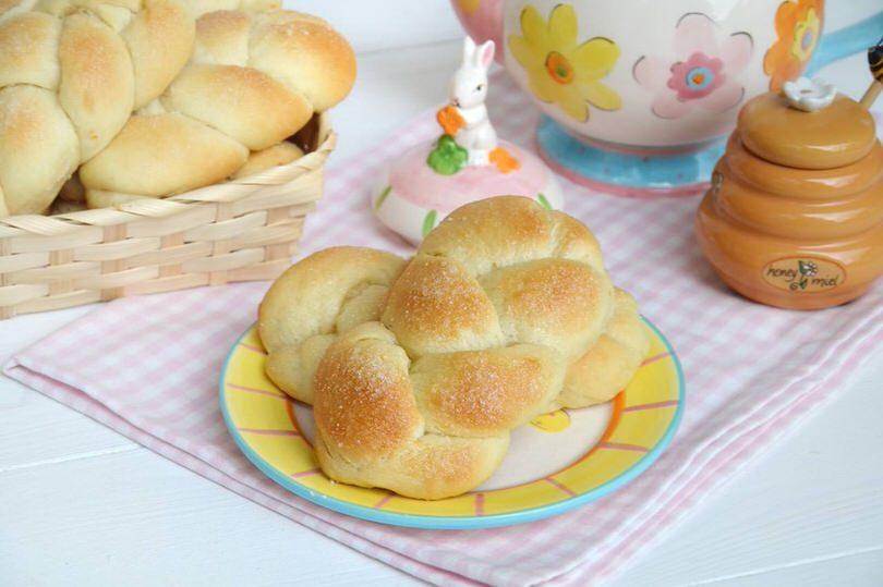 Pane e Brioches ricette Treccine allo yogurt