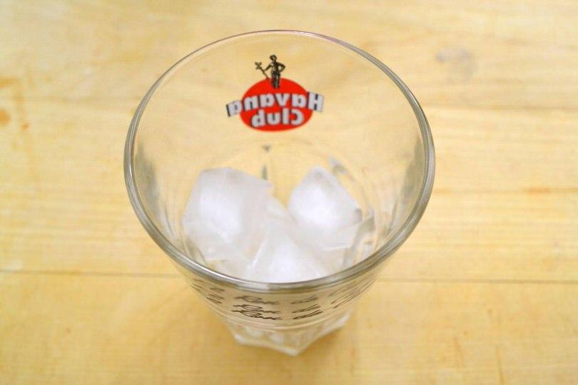 1 bicchiere ghiaccio