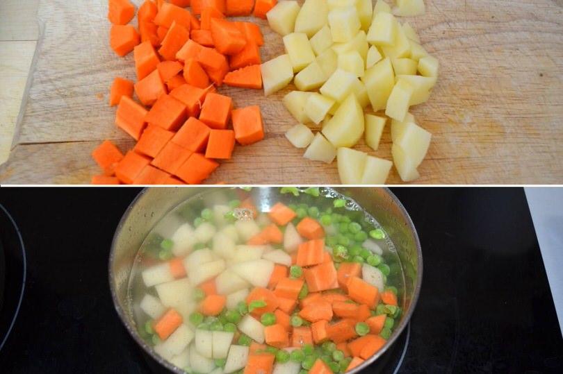 1 carote e patate