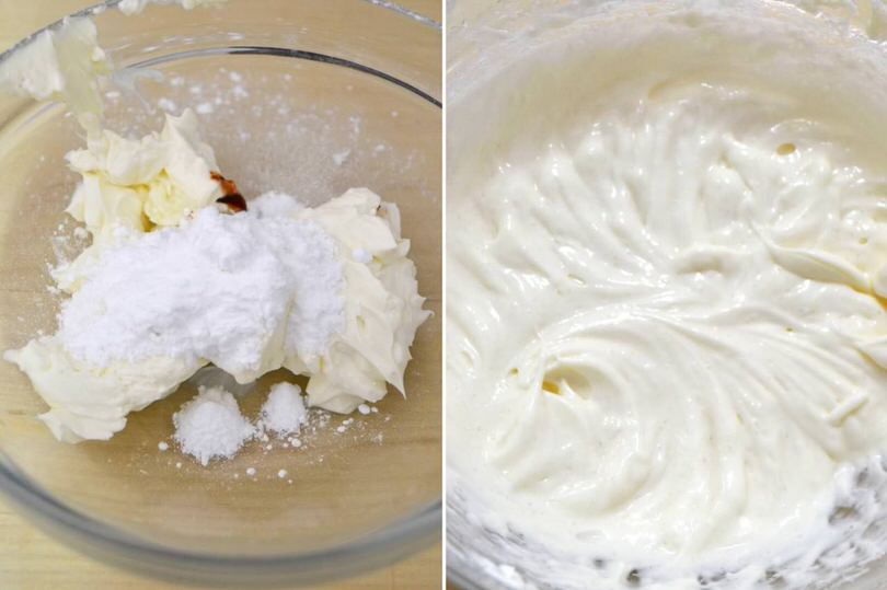 1 crema al formaggio